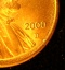 2000 D Lincoln Cent