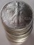 1993 American Silver Eagle Roll Uncirculated
