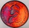 1959 Albert Collis restrike of the Washington Born Virginia Token Toned