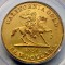 1850 Baldwin & Company Ten Dollar Horseman California Gold issue