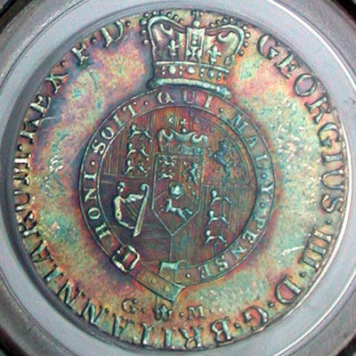 click for larger picture of 1807 GFM Germany Brunswick 2/3 Thaler (Georg Fredrich Michaelis)