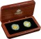 2006 Australian Royal Twin Coin Gold Plated 50 Cent Proof Set
