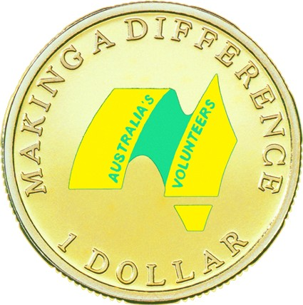 2003 Australian Dollar Volunteers Making a Difference