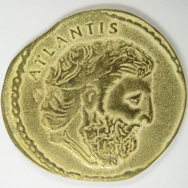 click for larger picture of Atlantis Hotel Token, Bahamas