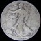 1929 S Walking Liberty Half Dollar