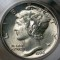 1926 Mercury Dime Full Bands FB