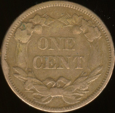 click for larger picture of 1858 Flying Eagle Cent  Small Letters