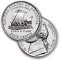 2004 P Jefferson Nickel - Louis and Clark Keelboat Reverse UNC