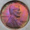 1957 Lincoln Cent Toned