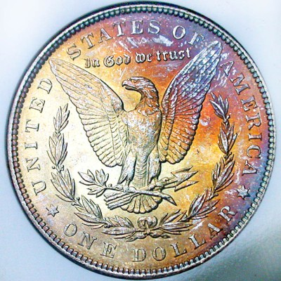 click for larger picture of 1888 Morgan Dollar