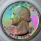 1976 S Bicentennial Quarter Dollar Proof Toned