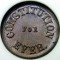 1863 Constitution Forever Civil War Token