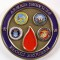NATO 2000 Civil and Military Blood Conference Challenge Coin