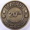 1988 20th Anniversary MASPS Military Audiology and Speech Pathology Society Challenge Coin