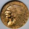1927 Indian Head Gold Quarter Eagle