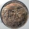 1935 Oregon Trail Memorial Association Pony Express Diamond Jubilee Medal
