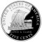 2004 S Jefferson Nickel - Louis and Clark Keelboat Reverse Proof