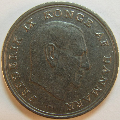 click for larger picture of 1966 Denmark Krone