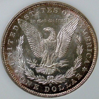 click for larger picture of 1881 O Morgan Dollar PL
