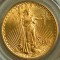 1911 S Gold Saint Gaudens $20 Double Eagle