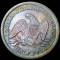 1842 Seated Liberty Half Dollar Medium Date