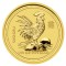 2005 Australian Rooster Gold 1/10 ounce 15 Dollars