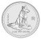 2006 Australian Silver Dog 2 ounce 2 Dollars