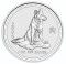 2006 Australian Silver Dog 1 ounce 1 Dollar