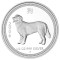 2006 P Australian Dog Silver Proof 1/2 ounce 50 Cents