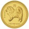 2006 P Australian Dog Gold Proof 1 ounce 100 Dollars