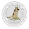 2006 Australian Silver Dog Coloured Edition 1 ounce 1 Dollar