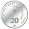2005 B Swiss Silver 20 Francs Chapel Bridge Lucerne