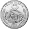 2006 P South Dakota State Quarter Dollar