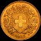1935 B  Swiss Gold 20 Francs