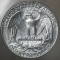 1943 S Washington Quarter Dollar - Goiter Neck variety