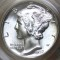 1937 D Mercury Dime FB (Full Bands)