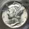 1939 D Mercury Dime FB (Full Bands)