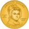 2007 Abigail Adams Commemorative 1/2 oz Gold $10 (Artist Rendering)