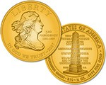 2007 Jefferson Liberty Commemorative 1/2 oz Gold $10 (Artist Rendering)