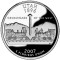 2007 S Utah State Quarter Dollar Proof