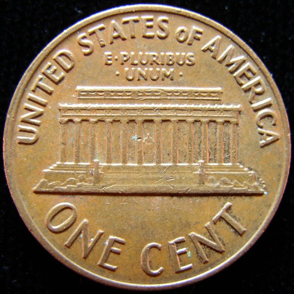click for larger picture of 1971 S Lincoln Cent