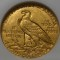 1914 D Indian Head Gold Quarter Eagle $2.50