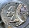 1999 P New Jersey State Quarter Dollar Double Strike Error 75% off center