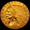 1912 Indian Head Gold Quarter Eagle $2.50