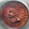 1884 Indian Head Cent RB Red Brown