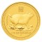 2007 P Australian Gold Proof Pig 1/10 ounce 15 Dollars