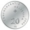 2006 B Swiss Silver 20 Francs 100th Anniversary of the Post Auto