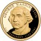 2007 S George Washington Presidential Dollar Proof