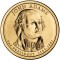 2007 P John Adams Presidential Dollar