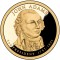 2007 S John Adams Presidential Dollar Proof